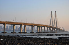 Mumbai Sealink Stock Images