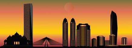 Mumbai skyline Stock Photography