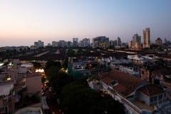 Mumbai Skyline At Dusk Royalty Free Stock Image