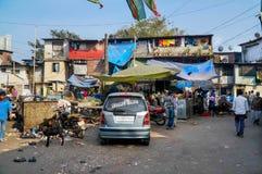 Mumbai slum Stock Photo