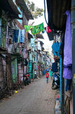 Mumbai slum Stock Photography