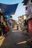 Mumbai slum Stock Photos