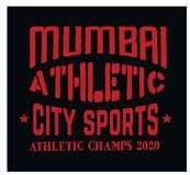 Mumbai sport t-shirt design. College sport team style typography for poster, t-shirt or print Royalty Free Stock Images