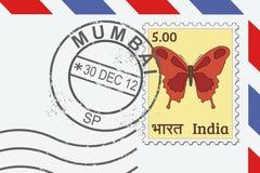 Mumbai-Stempel Lizenzfreies Stockfoto