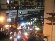 Mumbai suburbans city of street stock photos