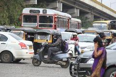 Mumbai Traffic Royalty Free Stock Image