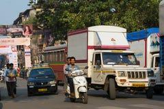 Mumbai traffic Royalty Free Stock Images