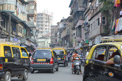 Mumbai traffic Royalty Free Stock Images