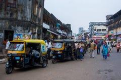 Mumbai trafik arkivfoton