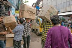 Mumbai trans. Fotografering för Bildbyråer