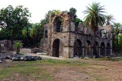 Mumbai Vasai fort Arkivfoton