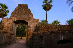 Mumbai Vasai Fort Royalty Free Stock Images