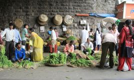Mumbai vegetable Market Stock Photography