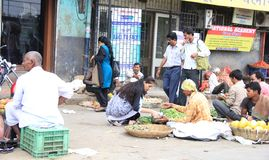 Mumbai vegetable Market Stock Image