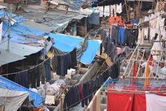 Mumbai washing Royalty Free Stock Photography