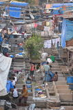 Mumbai washing Royalty Free Stock Photo
