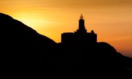 Mumbles lighthouse Swansea Stock Photography