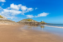 Mumbles Lighthouse Royalty Free Stock Photo