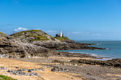 Mumbles Lighthouse Royalty Free Stock Images