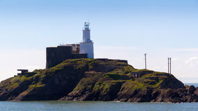 Mumbles Lighthouse Wales Royalty Free Stock Image