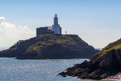 Mumbles Lighthouse Wales Royalty Free Stock Images