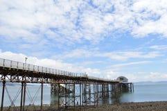 Mumbles-Pier Stockbild