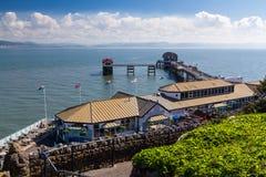 Mumbles Pier Wales Imagem de Stock
