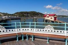 Mumbles Pier Wales Fotografia de Stock Royalty Free