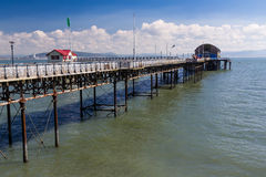 Mumbles Pier Wales Royalty Free Stock Images