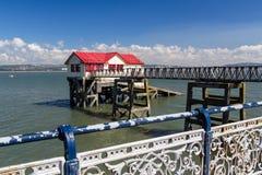 Mumbles Pier Wales Stock Photos