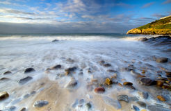 The Mumbles Wales. The Mumbles beach Wales UK Stock Image