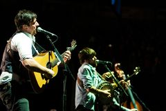 Mumford and Sons in Concert Stock Image