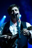 Mumford and Sons in Concert Royalty Free Stock Photos