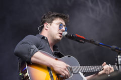 Mumford & Sons live royalty free stock photography