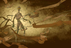 mumia egipska Zdjęcie Royalty Free