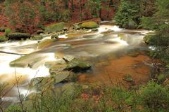 Mumlava river Royalty Free Stock Photo