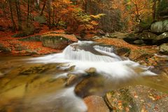 Mumlava river Stock Image