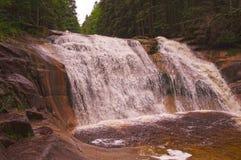 Mumlava vattenfall Arkivfoton