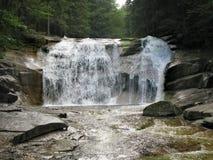 Mumlava Wasserfall stockfotografie