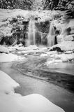 Mumlava waterfall Royalty Free Stock Image