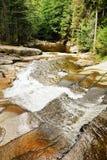 Mumlava Waterfall in Krkonoše mountains. Bottom part of Mumlava Waterfall in Krkonoše mountains in Czech republic Stock Images