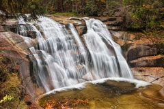 Mumlava Waterfall in Krkonose Mountains Stock Photo