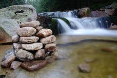 Mumlava Waterfall. Krkonose National Park, Czech Republic Stock Images