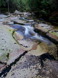 Mumlava Waterfall. Krkonose National Park, Czech Republic Stock Image