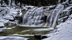Mumlava Waterfall Stock Photo
