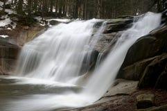 Mumlava waterfall Royalty Free Stock Photography