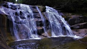 Mumlava Waterfall. Is a three kilometers after Harrachov place Royalty Free Stock Images