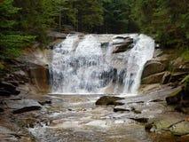 Mumlava waterfalls Royalty Free Stock Photo