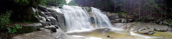 mumlava wodospadu Obrazy Royalty Free