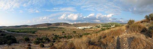 Mummel Ela Valley, Israel Royaltyfria Foton
